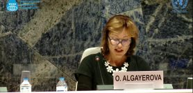 Ms. Olga Algayerova, United Nations Under-Secretary General, Executive Secretary of the United Nations Economic Commission for Europe (WASD 2018, UN Geneva)