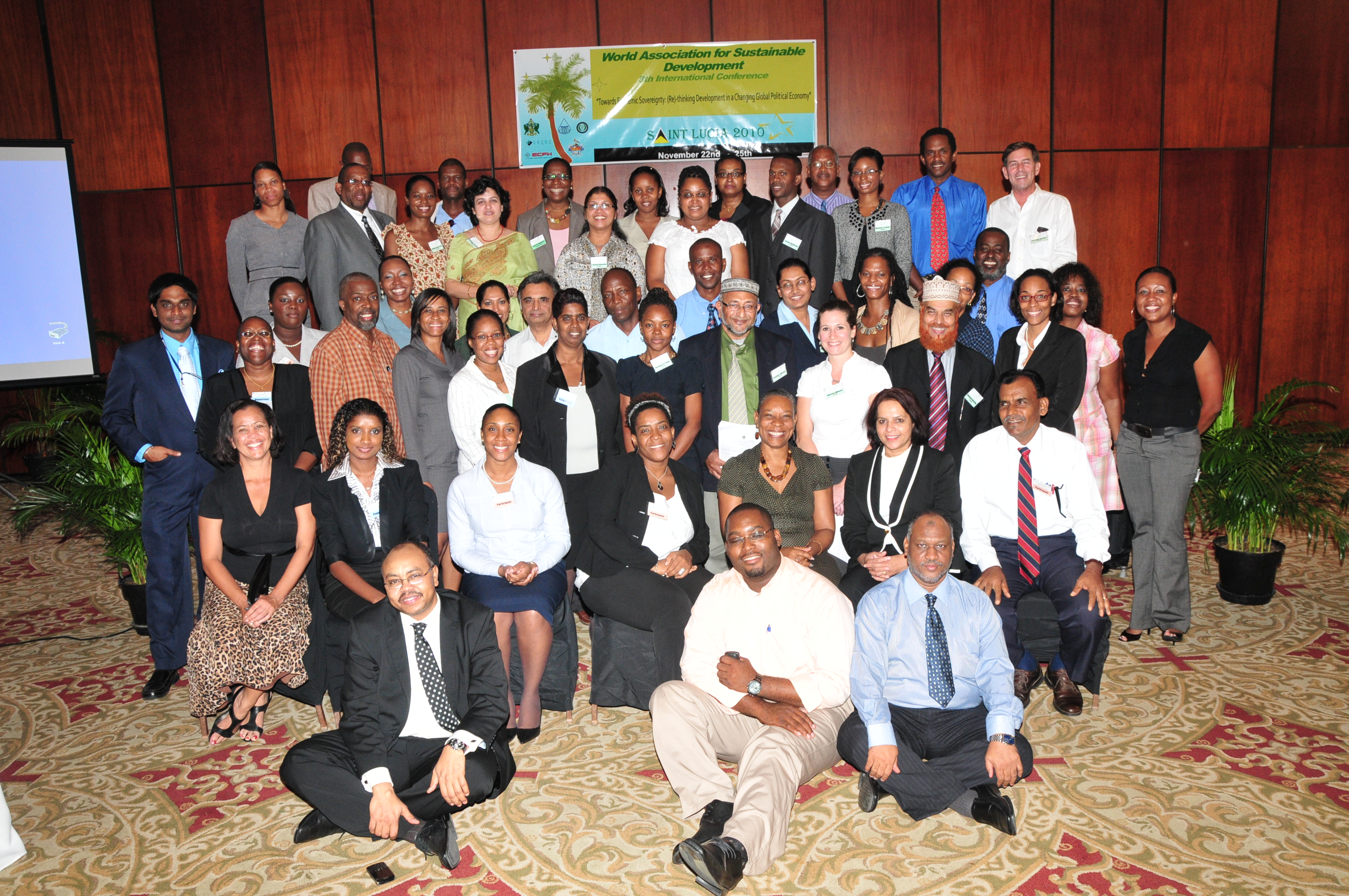 8th Sustainability Conference, St Lucia, Caribbean 2010<div style='clear:both;width:100%;height:0px;'></div><span class='cat'>Sustainability Conferences</span>