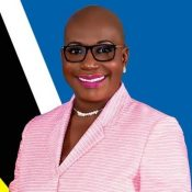 Hon. Dr. Gale Rigobert, Minister of Education, Innovation, Gender Relations & SD, Government of St Lucia