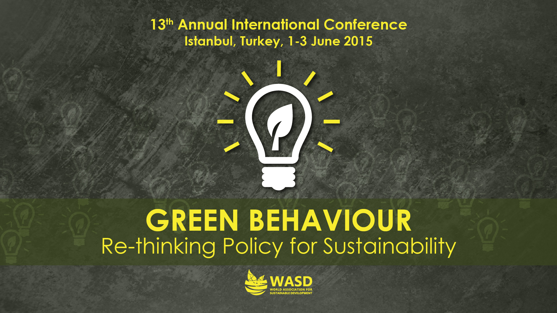 13th Sustainability Conference, Istanbul, Turkey 2015<div style='clear:both;width:100%;height:0px;'></div><span class='cat'>Sustainability Conferences, MENA</span>